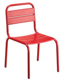 HILO Chaise pour enfant 753157400030 Taille L: 40.0 cm x P: 38.0 cm x H: 57.0 cm Couleur Rouge Photo no. 1