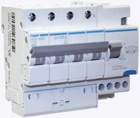Fehlerstrom-Leitungsschutzschalter C-20A/30mA Fehlerstrom-Leitungsschutzschalter Hager 612167200000 Bild Nr. 1