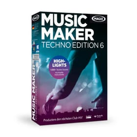 Music Maker Techno Edition 6 PC (D/F/I/E)