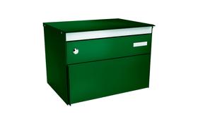 s:box 13 Moosgrün/Moosgrün Briefkasten Stebler 604006700000 Farbe Dunkelgrün Bild Nr. 1