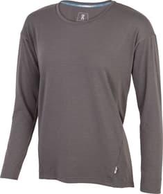 Comfort Long-T Maillot à manches longues pour femme On 470426300380 Taille S Couleur gris Photo no. 1