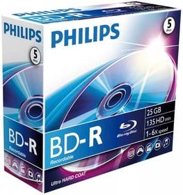 BD-R 25 GB 5-Pack Blu-Ray Recordable Philips 787242400000 Bild Nr. 1
