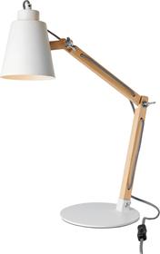 DOMINIK Lampada da tavolo 421233400010 Dimensioni P: 41.0 cm x A: 60.0 cm x D: 20.0 cm Colore Bianco N. figura 1