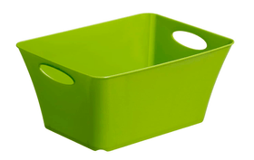 LIVING Box 5l, Kunststoff (PP) BPA-frei, grün Korb Rotho 604058500000 Bild Nr. 1