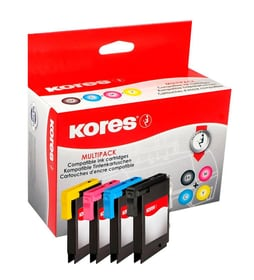 Kores Multipack cartouches d'encre pour Brother
