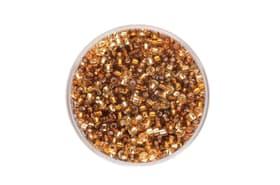 Rocailles Mix 2,6mm Silbereinzug beigebraun 17g 608137700000 Bild Nr. 1