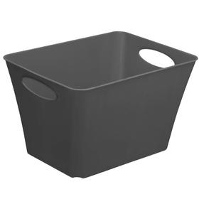 LIVING Box 44l, Plastique (PP) sans BPA, anthracite Panier Rotho 604058200000 Photo no. 1