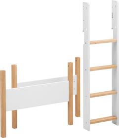 WHITE NOR Composants pour lit hauteur moyenne Flexa 404748400000 Dimensions H: 143.0 cm Couleur Chêne Photo no. 1