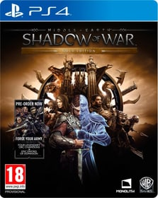 PS4 - Middle-Earth Shadow of War - Gold Edition Box 785300122360 Photo no. 1