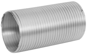 Lüftungsrohr Suprex 678041300000 Farbe Aluminium Anmerkung Ø 125 mm x 2.5 m Bild Nr. 1