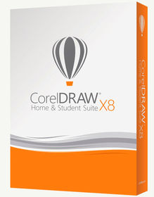 CorelDRAW Home & Student Suite X8 per PC tedesco