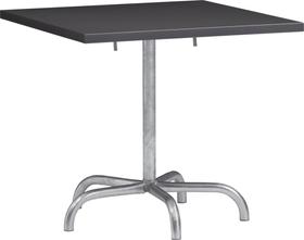 SÄNTIS Table pilante Schaffner 408025100084 Couleur Anthracite Dimensions L: 80.0 cm x P: 80.0 cm x H: 72.0 cm Photo no. 1