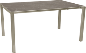 KANO, 150/210 cm, struttura acciaio, piano Ceramica Tavolo allungabile 753194015072 Taglio L: 150.0 cm x L: 95.0 cm x A: 74.0 cm Colore Wild Grey N. figura 1