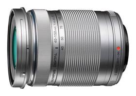 M.Zuiko 40-150mm R obiettivo argento
