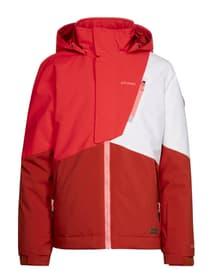 Cherry JR Snowjacket Veste de snowboard pour fille Protest 466810114030 Couleur rouge Taille 140 Photo no. 1