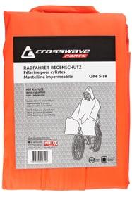 Pèlerine de vélo pour adulte Crosswave 462907699934 Couleur orange Taille One Size Photo no. 1