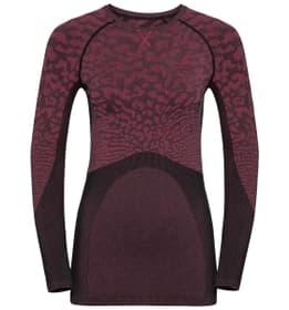 Performance Blackcomb Damen-Langarmshirt Odlo 477077700217 Farbe himbeer Grösse XS Bild-Nr. 1