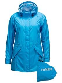 Elenor Damen-Regenjacke Rukka 498430203442 Grösse 34 Farbe azur Bild-Nr. 1