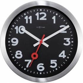 Horloge Murale Noire 35cm Dur Horologe murale NexTime 785300140026 Photo no. 1