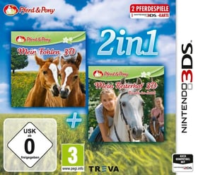 3DS - 2in1: Mein Fohlen + Reiterhof (D) Box 785300135812 Photo no. 1