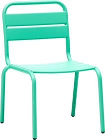 HILO Chaise pour enfant 753407200001 Taille L: 34.0 cm x P: 40.0 cm x H: 57.0 cm Couleur Vert Photo no. 1