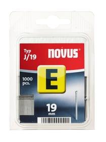 Chiodi E Typ J/19 NOVUS 601257500000 Taglio 19 mm / 1'000x N. figura 1