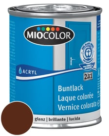 Acryl Vernice colorata lucida Marrone cioccolato 125 ml Miocolor 660549700000 Colore Marrone cioccolato Contenuto 125.0 ml N. figura 1