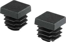 Tappo quadrato 15.5 mm PE nero 2pz alfer 605029400000 N. figura 1