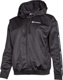 Hooded Full Zip Sweatshirt Giacca con cappuccio Champion 464285700420 Taglie M Colore nero N. figura 1