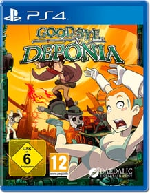 PS4 - Goodbye Deponia D Box 785300154426 N. figura 1