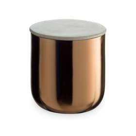 MARBLE Scatola portaoggetti 386212500000 Dimensioni L: 9.5 cm x P: 9.5 cm x A: 10.0 cm Colore Color rame N. figura 1
