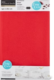Nappe Crepe Cucina & Tavola 700353720130 Couleur Rouge Dimensions L: 140.0 cm Photo no. 1