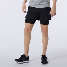 Q Speed Fuel 2in1 5 In Short Herren-Shorts 2in1 New Balance 470456100420 Grösse M Farbe schwarz Bild-Nr. 1