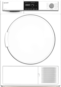 KD-HHB9S7PW2-CH Asciugatrice Sharp 785300158185 N. figura 1