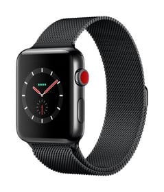 Watch Series 3 GPS/LTE 42mm stainless black/spaceblack milanese