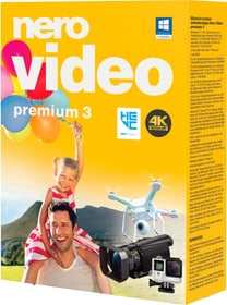 Nero Video Premium 3 (Tedesco) Fisico (Box) Nero 785300128266 N. figura 1