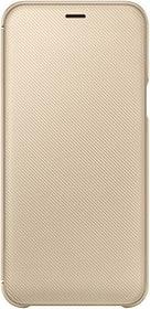 Wallet Cover gold Hülle Samsung 785300136037 Bild Nr. 1