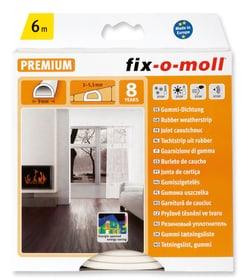 D-Profil Gummi Dichtung 9x6mm x 6m Dichtung Fix-O-Moll 673007000000 Bild Nr. 1