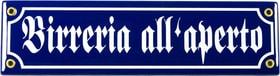 Insegna in email Birreria all aperto 605079600000 N. figura 1
