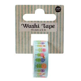 Washi Tape Fleurs I I AM CREATIVE 666124400000 Photo no. 1