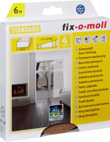 Schaumstoff-Dauerdichtung 9 x 4 mm, 6 m Fix-O-Moll 673002600000 Farbe Braun Bild Nr. 1