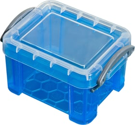contenitore 0.14L Really Useful Box 603729900000 Taglio L: 9.0 cm x L: 6.5 cm x A: 5.5 cm Colore Blu N. figura 1