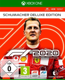 F1 2020 - Schumacher Deluxe Edition Box 785300152930 Langue Allemand Plate-forme Microsoft Xbox One Photo no. 1
