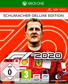 F1 2020 - Schumacher Deluxe Edition Box 785300152924 Lingua Italiano Piattaforma Microsoft Xbox One N. figura 1
