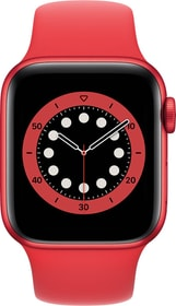 Watch Series 6 LTE 40mm Red Aluminium Red Sport Band Smartwatch Apple 785300155483 Photo no. 1