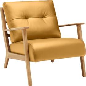 FAUST Sessel 402467007050 Grösse B: 76.0 cm x T: 80.0 cm x H: 78.0 cm Farbe Gelb Bild Nr. 1