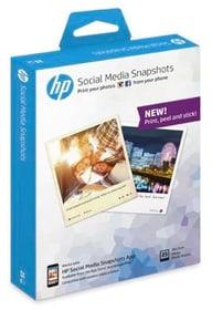 Snapshot Paper 10x13 25 Blatt Papier photographique HP 798208000000 Photo no. 1