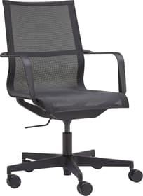 SAWYER Bürostuhl 401509800000 Grösse B: 68.0 cm x T: 68.0 cm x H: 91.0 cm Farbe Schwarz Bild Nr. 1