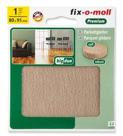 Patins pour parquet 5 mm / 95 x 80 mm 1 x Fix-O-Moll 607071300000 Photo no. 1