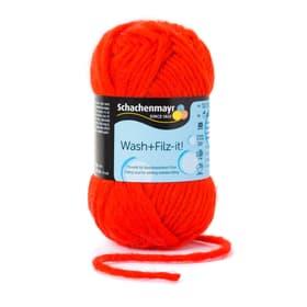 Filzwolle «Wash + Filz-it!» Schachenmayr 664746200019 Farbe Rot Bild Nr. 1